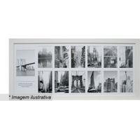 Painel Para 13 Fotos- Branco- 40X85X2Cm- Kaposkapos