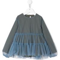 Il Gufo Vestido Com Tule Azul