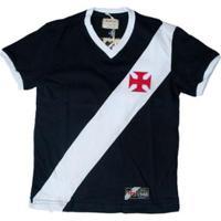 Camisa Retrô Mania Juvenil Vasco Da Gama 1948 - Masculino