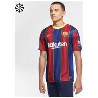 Camisa Nike Barcelona I 2020/21 Torcedor Pro Masculina