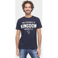 Camiseta Santos F.C Estampada Masculina - Masculino
