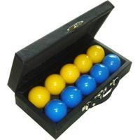 Estojo De Snooker Para 10 Bolas Procópio - Unissex