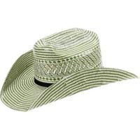 Chapéu De Palha Infantil Eldorado Company 10X Bicolor Unissex - Unissex-Verde