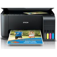 Impressora Multifuncional Epson Ecotank L3150 Preta
