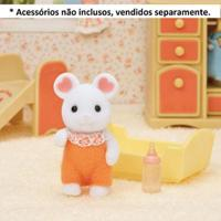 Sylvanian Families - Rato Marshmallow - Epoch - Unissex-Incolor