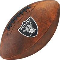 Bola De Futebol Americano Wilson Throwback Nfl Jr. Oakland Raiders - Unissex