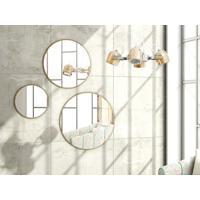 Combo De Espelhos Quartzo Buriti - Líder Design