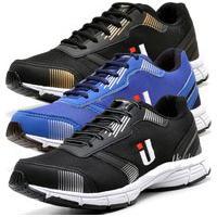 Kit 3 Tênis Masculino Ousy Shoes Training Academia Ultraleve Azul, Dourado E Preto