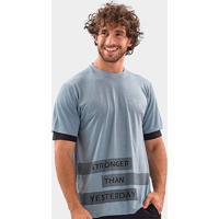 Camiseta Área Sports Jester Masculina - Masculino-Cinza