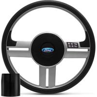 Volante Rallye Comando De Som Pelicula Multifuncional Ford
