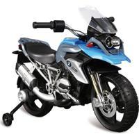 Moto Bmw Gs Elétrica 12V Azul
