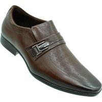 Sapato Pegada Anilina Super Comfort Masculino - Masculino-Marrom