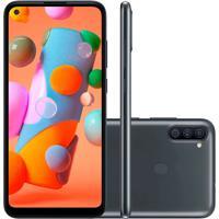 Smartphone Samsung Galaxy A11 64Gb 3Gb Ram A115 Preto