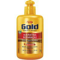 Creme De Pentear Niely Gold Queratina Reparação Com 280G