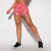 Short Fitness Estampado - Feminino