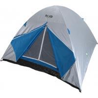 Barraca De Camping Nord Outdoor Summit - 5 Pessoas - Cinza/Azul