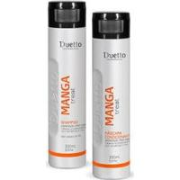 Kit Manga Duetto 1 Shampoo 300Ml + 1 Condicionador 300Ml - Unissex-Incolor