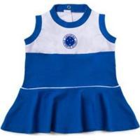 Vestido Cruzeiro Infantil Regata Oficial