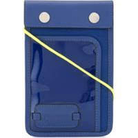 Jw Anderson Bolsa Pulley Com Patch De Logo - Azul