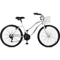 Bicicleta Master Bike Aro 26 Ipanema Plus 21 Marchas V-Brake - Unissex
