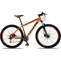 Bicicleta 29 First Smitt 27V Câmbio Shimano Altus M2000 Freio Disco Hidráulico Suspensão Com Trava - Unissex
