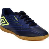 Tênis Futsal Masculino Umbro Speed Iv Azul Marinho 0c13e1706e1af