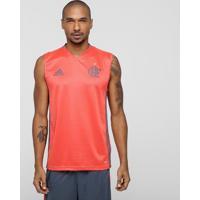 Camiseta Regata Flamengo Adidas Treino Masculina - Masculino