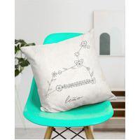 Amaro Feminino Design Up Living Capa De Almofada Signo 42X42, Leão