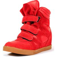 Tênis Caráter Sneaker Qix Higher Vermelho