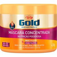 Máscara Nutritiva Niely Gold Nutrição Poderosa 430G - Unissex