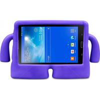 "Capa Boneco Iguy Infantil Para Tablet Samsung Galaxy Tab3 7"" Sm-T110 T111 T113 T116 + Película De Vidro Roxa"