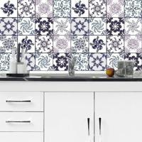 Adesivo Azulejos Ornamentais (20X20Cm)