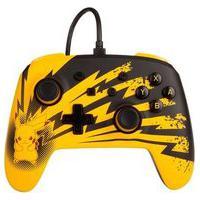 Controle Power A Para Nintendo Switch Enwired Controller Lightning Pikachu, Com Fio - 1516985-01