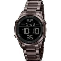 Relógio Mondaine 53965Gpmvse2 Digital Feminino - Feminino-Chumbo