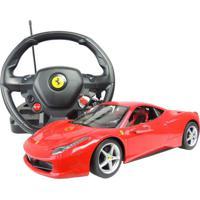 Carrinho De Controle Remoto Benoá Ferrari 458