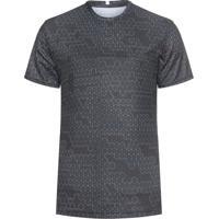 Camiseta Masculina Esporte Fullprint - Preto