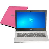 Notebook Philco 14G-R144Wb-B - Dual Core- Ram 4Gb - Hd 500Gb - Rosa - Windows 7 Home Basic