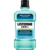 Antisséptico Bucal Listerine Zero Álcool Menta Suave 250Ml
