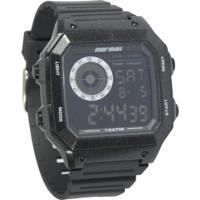 Relógio Digital Mormaii Mo2002 - Masculino - Preto