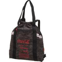 Bolsa Saco Coca Cola Connect Preta - Kanui