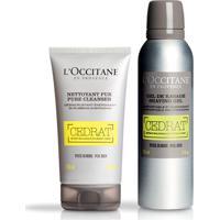 L'Occitane Rotina Duo Cedrat - Gel De Barbear & Gel Esfoliante