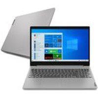 Notebook Lenovo Ultrafino Ideapad 3I I5-10210U 8Gb 256 Gb Ssd Windows 10 15.6 82Bs0005Br Prata