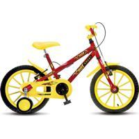 Bicicleta Colli Bikes Infantil Aro 16 Hot Colli Mtb Vermelho