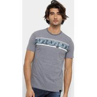 Camiseta Hd Autumn Masculina - Masculino-Grafite