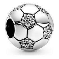 Charm Bola De Futebol Brilhante