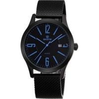 Relógio Skone Analógico Casual 7347 Azul