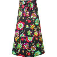 La Doublej Long A-Line Skirt - Preto