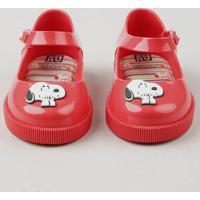 a399b9c302 Sapatilha Infantil Zaxy Nina Snoopy Vermelha