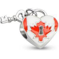 Pingente Life Coração Canadense