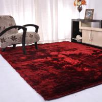 Tapete Silk Shaggy Bordô 2,00M X 3,00M